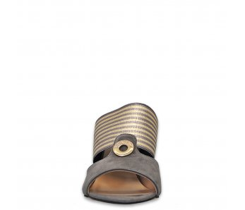 Šľapky AK049-500 SIVÁ SEMIŠ