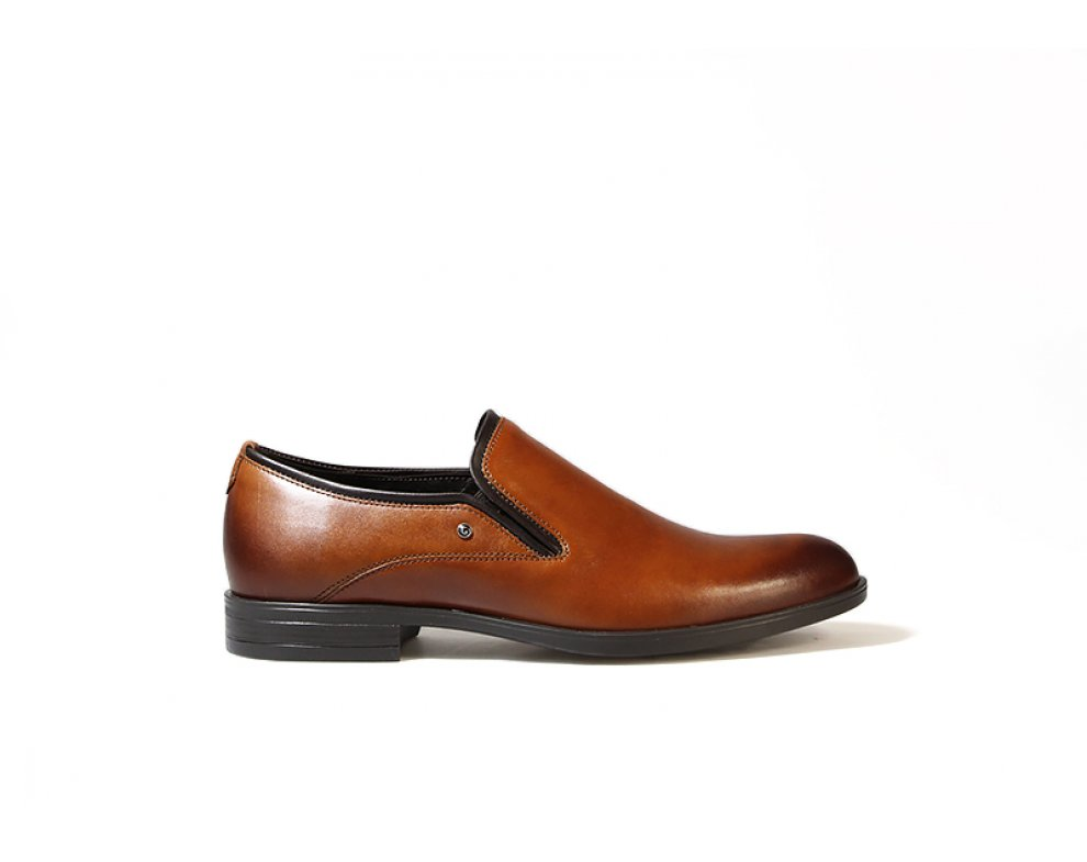 Sebastiano spoločenská obuv ZEOC7440-ZS10-00S04  HNEDÁ