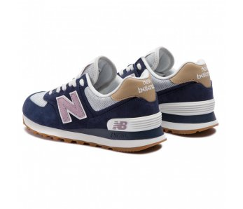 Sneakersy NEW BALANCE WL574NVC BLUE