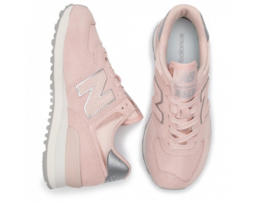 Sneakersy NEW BALANCE WL574OPS ROSE
