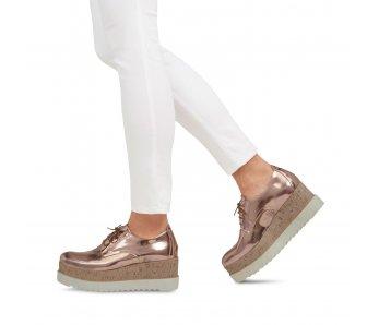Vychádzková obuv TAMARIS 1-1-23711-30 ROSE METALLIC
