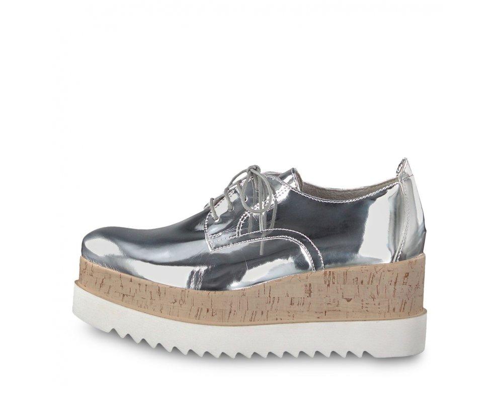 Vychádzková obuv TAMARIS 1-1-23711-30 SILVER METALLIC
