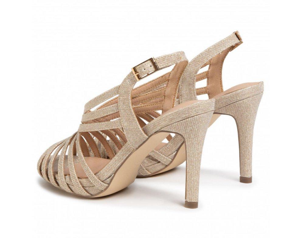 Spoločenské sandále MB20725 0087 PIEDRA/STONE