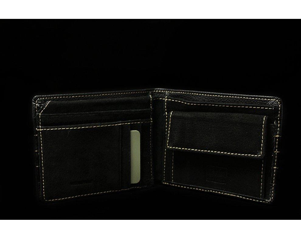 Peňaženka Biagiotti LB17W-630-04 BLACK