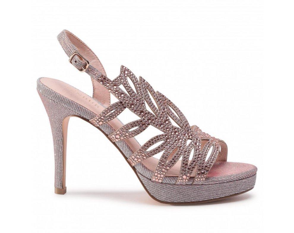 Spoločenské sandále MB21397 0089 MAKE UP