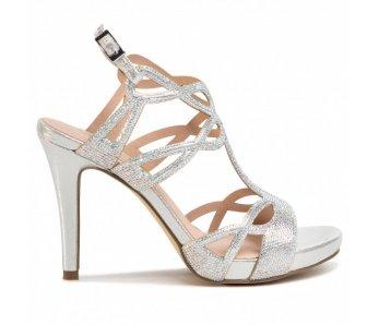 Spoločenské sandále MB21228 0009 SILVER