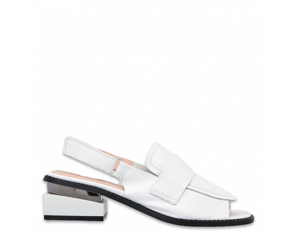 Sandále AQ176-811 WHITE