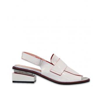 Sandále AQ20115 WHITE/RED