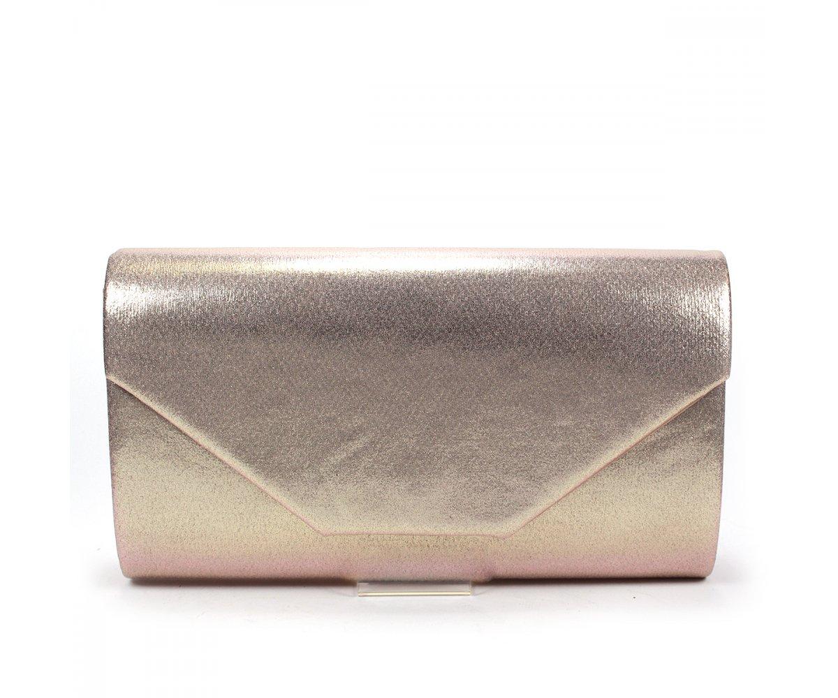 Spoločenská kabelka ACX654 ROSE GOLD | SecretShoes.sk