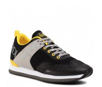 Pánske sneakersy TRUSSARDI TR77A00223 BLACK/YELLOW