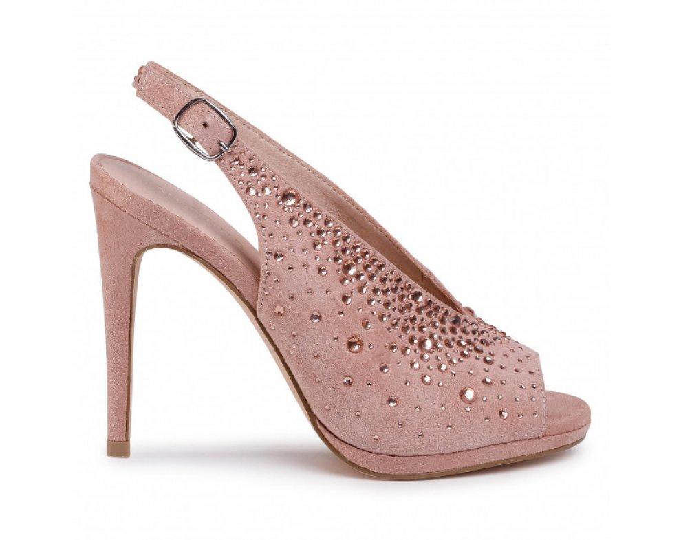 Spoločenské sandále MB21603 0097 NUDE