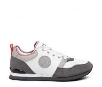 Pánske sneakersy TRUSSARDI TR77A00245 GREY/RED