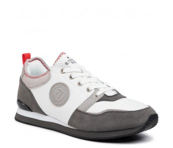Pánske sneakersy TRUSSARDI TR77A00245 GREY/RED