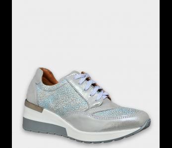 Sneakersy CA500 SILVER