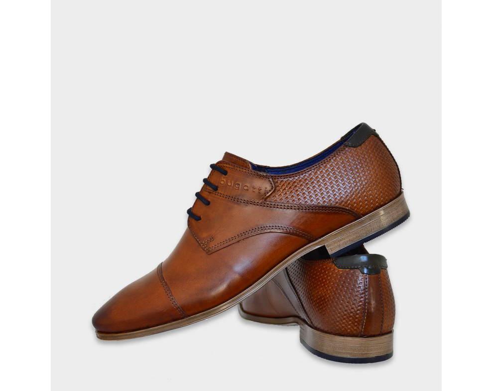 Pánska spol. obuv BUGATTI 312420012100 6300 COGNAC