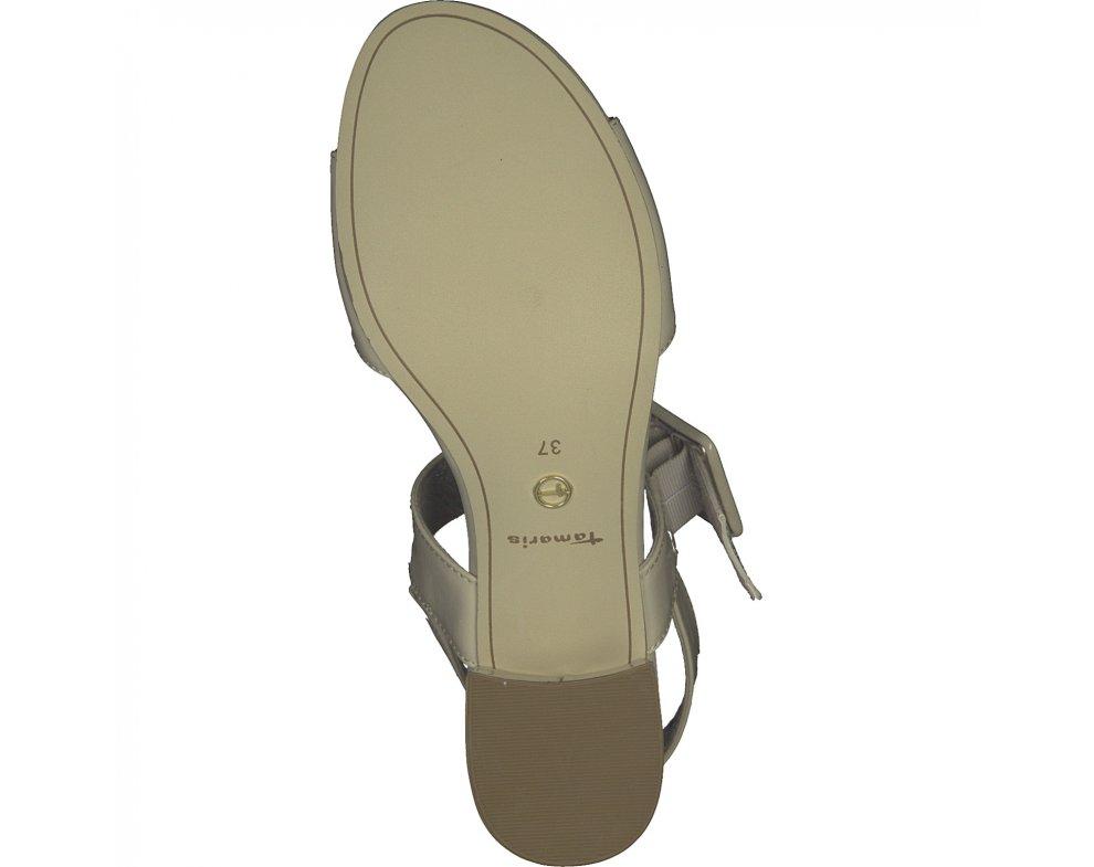 Sandále Tamaris 1-1-28211-24 451 CREAM PATENT