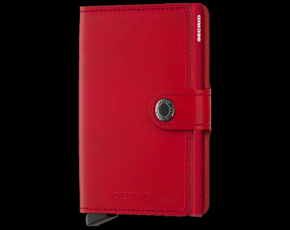 Secrid Miniwallet Red-Red