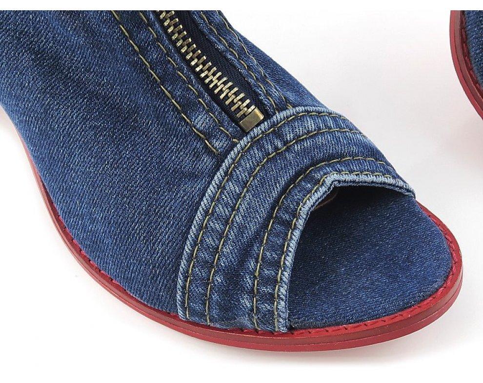 Sandále LA40C289 JEANS