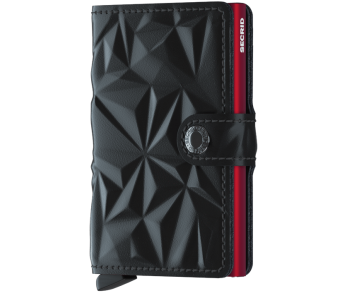 Secrid Miniwallet Prism Black-Red
