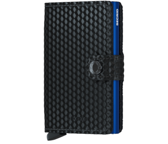 Secrid Miniwallet Cubic Black-Blue