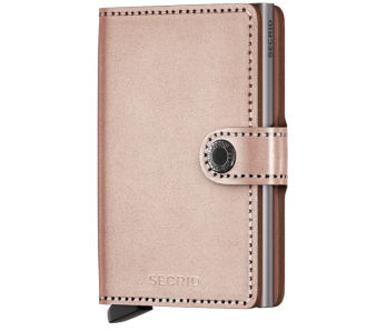 Secrid Miniwallet Metallic-Rose