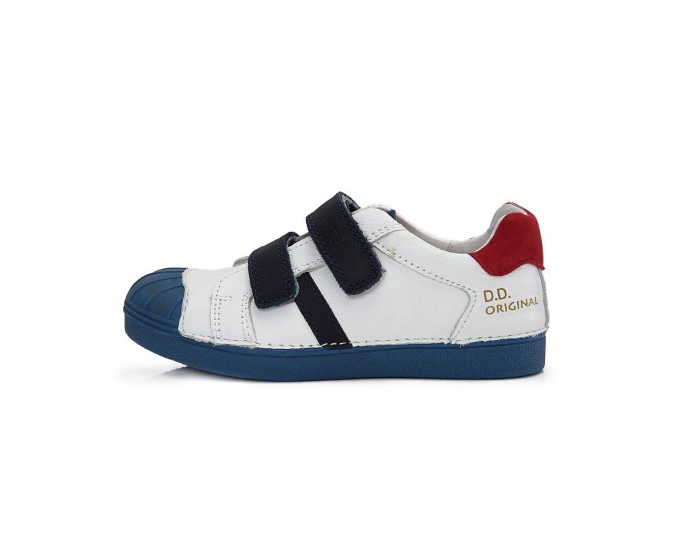 Topánky D.D.Step 043-1BL white