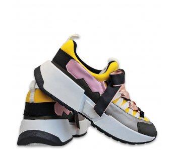 Sneakersy MK105-1 YELLOW