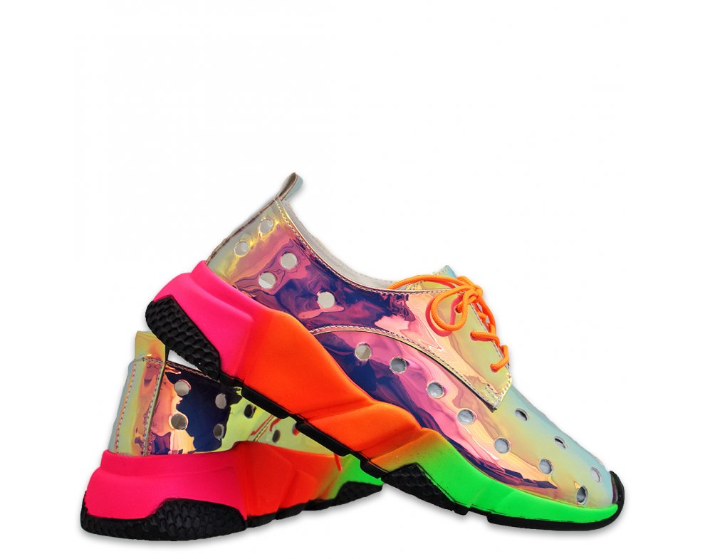 Sneakersy MO44-036 ORANGE