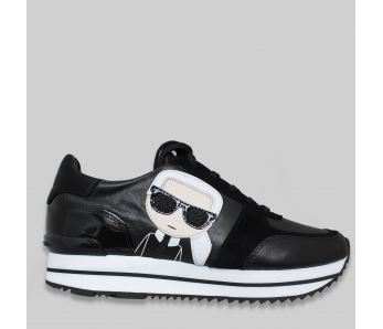 Sneakersy KARL LAGERFELD KL61930 BLACK
