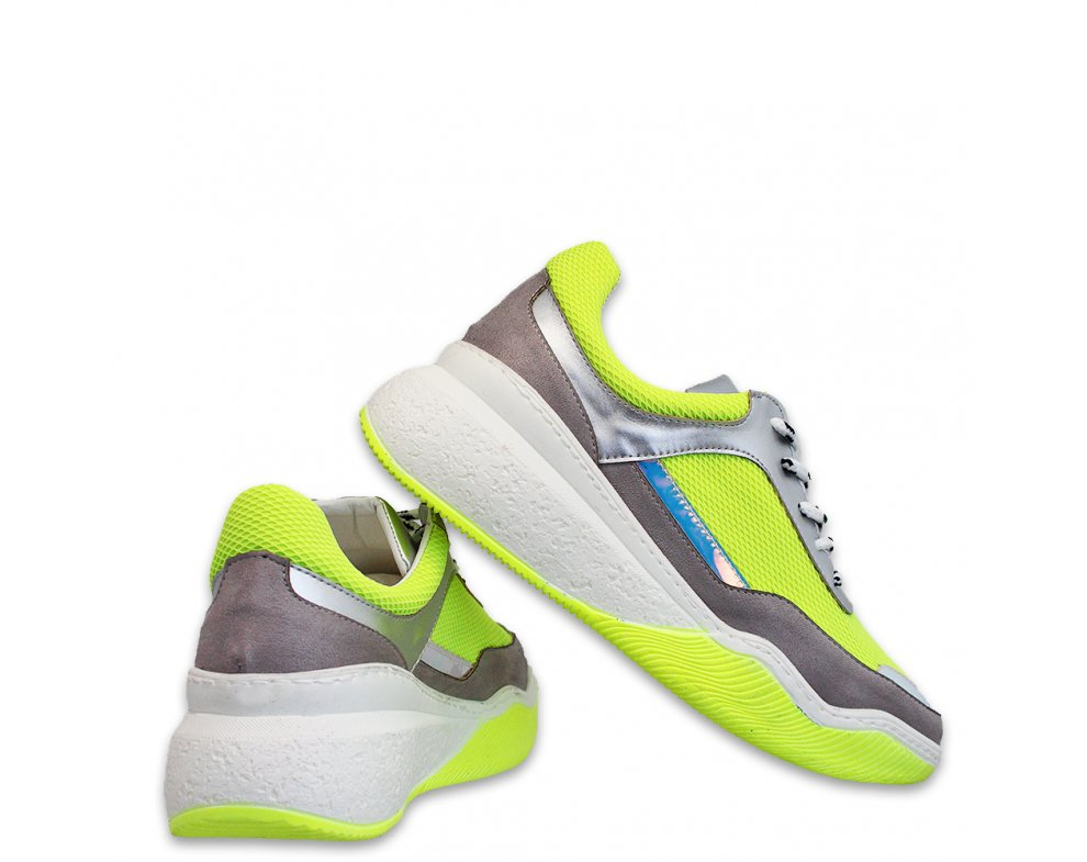 Sneakersy MO72-9 SILVER