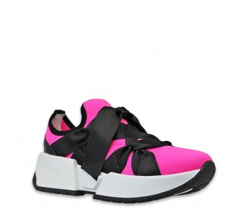 Sneakersy MK105-6 FUCHSIA
