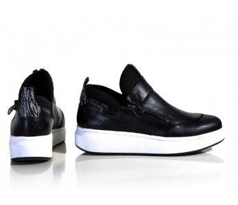 Vychádzková obuv Tamaris 1-1-25422-27 001 BLACK