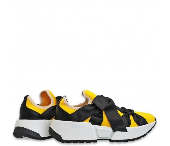 Sneakersy MK105-6 YELLOW