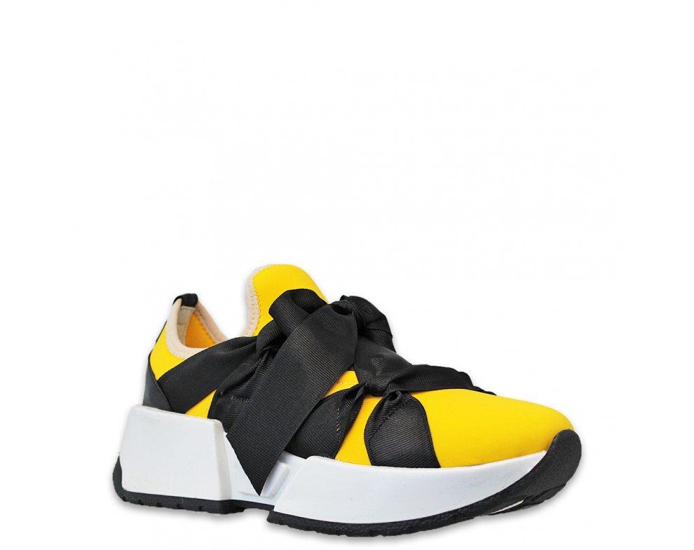 Sneakersy MK105-6 YELLOW