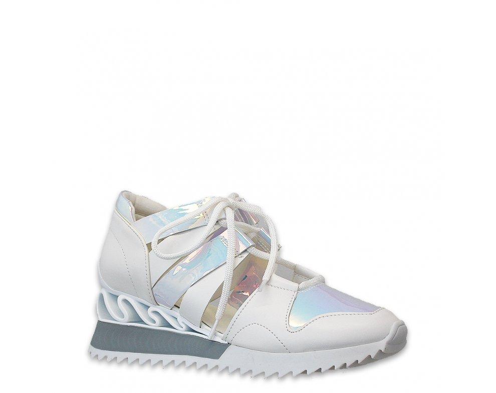 Sneakersy MK88-S-5 WHITE