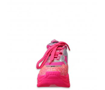 Sneakersy MO58-01F BARBIE PINK