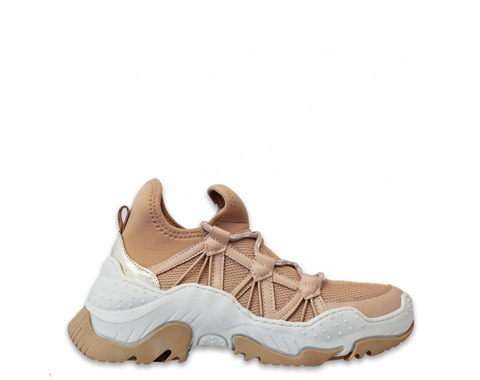 Sneakersy MK110-9 BEIGE