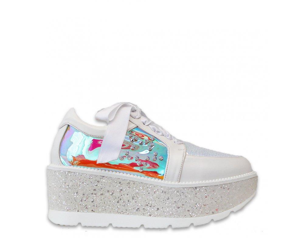 Sneakersy MO70-S-9 WHITE