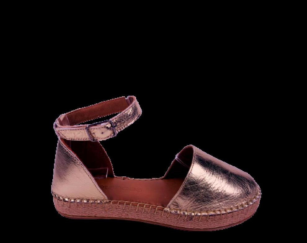 Sandále AL621 ZLATÁ