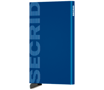 SECRID Cardprotector CLa-Logo Blue
