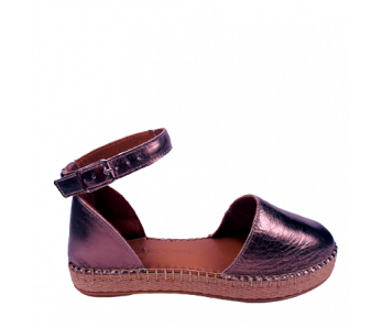 Sandále pewter