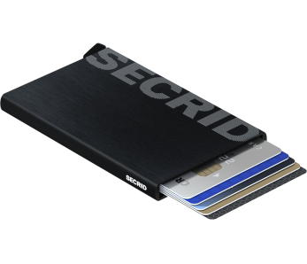 Secrid Cardprotector CLa-Logo Brushed Black