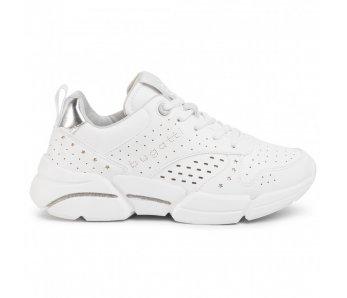 Sneakersy BUGATTI 432-66805-5050 2013 WHITE/SILVER