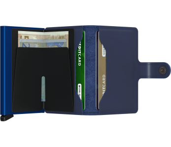 SECRID Miniwallet Navy-Blue