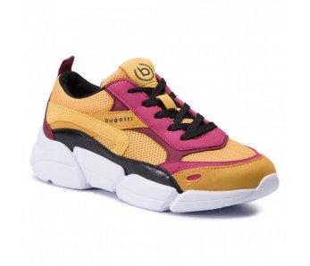 Sneakersy BUGATTI 431-66801-5959 5081 YELLOW/MULTI