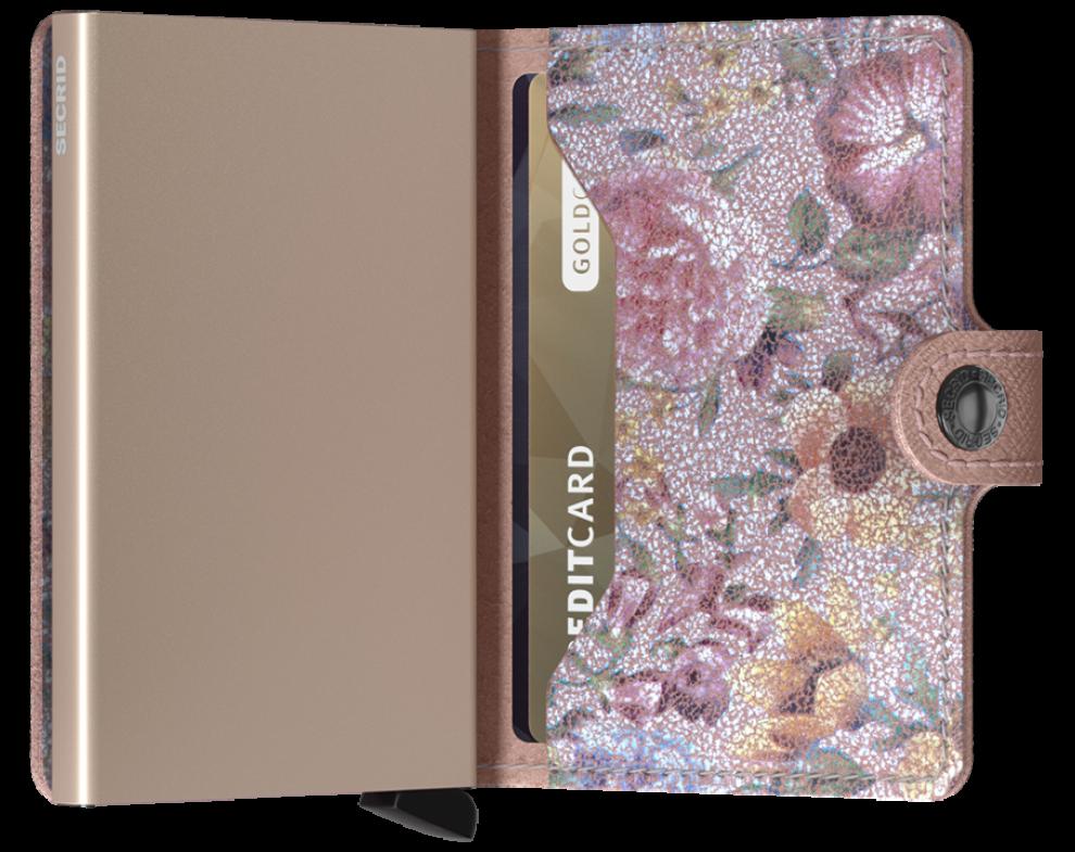 SECRID Miniwallet Crisple Rose Floral