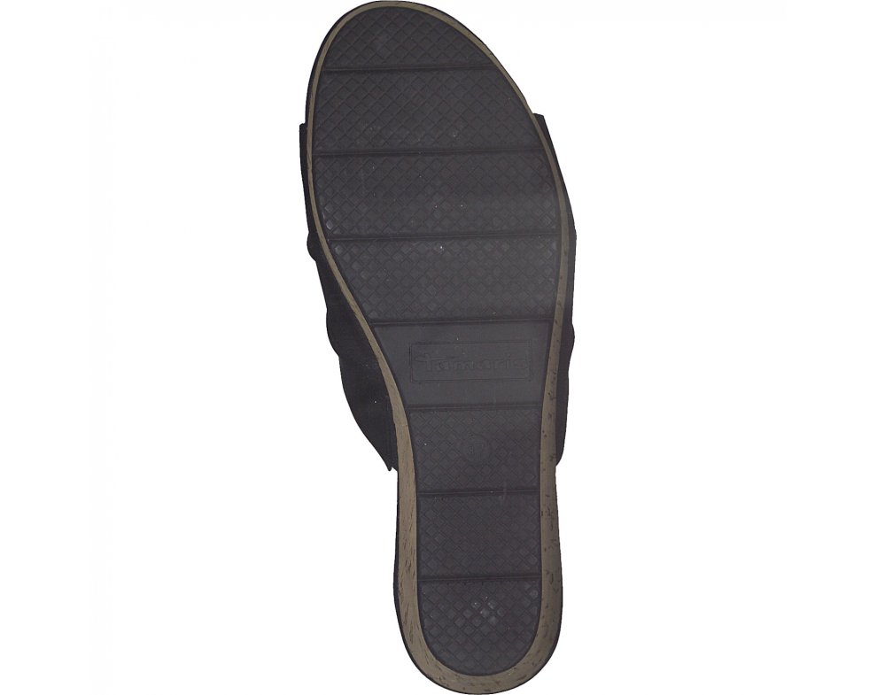 Šľapky Tamaris 1-1-27222-24 001 BLACK