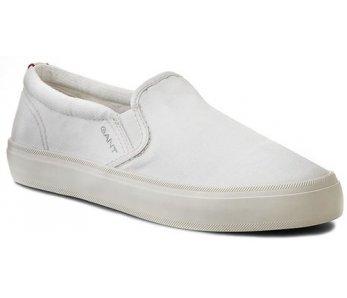 Slip on tenisky Gant 12578159/G29 white