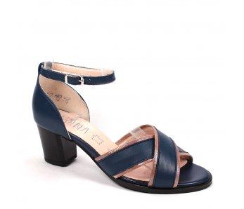 Dámske sandále 9J78-3 POWDER/BLUE