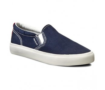 Slip on tenisky Gant 12578159/G65 navy blue